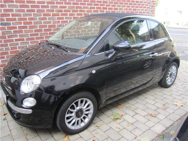 verkauft fiat 500c 500c1 2 lounge rad gebraucht 2014 km in memmingen. Black Bedroom Furniture Sets. Home Design Ideas