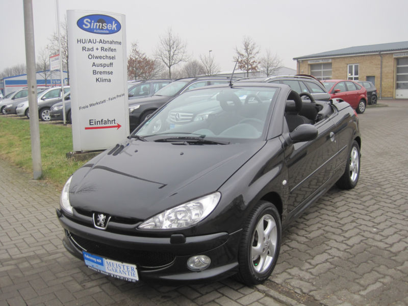 verkauft peugeot 206 cc 110 gebraucht 2003 km in hannover. Black Bedroom Furniture Sets. Home Design Ideas