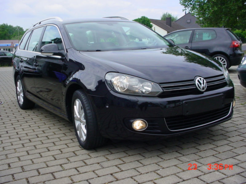 verkauft vw golf vi variant highline gebraucht 2010 km in homberg efze. Black Bedroom Furniture Sets. Home Design Ideas