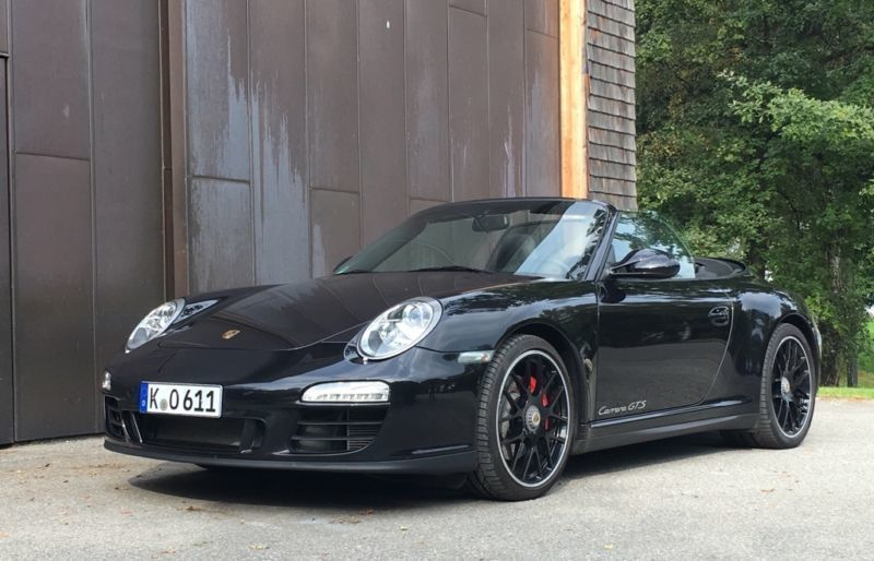 gebraucht gts cabrio porsche 997 2011 km in m nchen. Black Bedroom Furniture Sets. Home Design Ideas