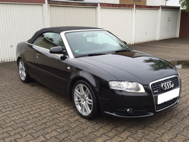 verkauft audi a4 cabriolet 3 0 tdi dpf gebraucht 2009 km in heusenstamm. Black Bedroom Furniture Sets. Home Design Ideas