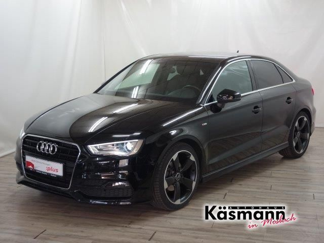verkauft audi a3 2 0 tdi s line s tron gebraucht 2014. Black Bedroom Furniture Sets. Home Design Ideas