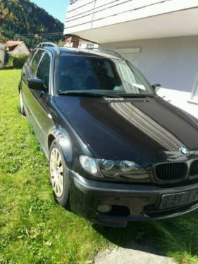 verkauft bmw 320 d kombi gebraucht 2002 km in albstadt. Black Bedroom Furniture Sets. Home Design Ideas