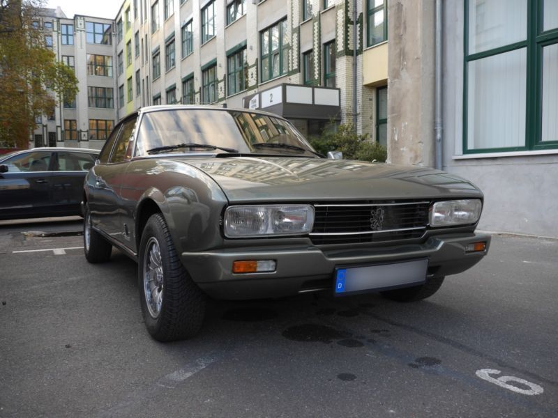 Verkauft Peugeot 504 Coupé 2.0 Ti Auto., gebraucht 1982, 125.000 km ...