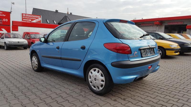 Verkauft peugeot 206 presence bel air gebraucht 2000 for Garage peugeot bouc bel air