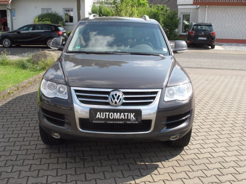 verkauft vw touareg v6 tdi automatik gebraucht 2008 km in fernwald albach. Black Bedroom Furniture Sets. Home Design Ideas
