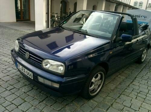verkauft vw golf cabriolet 1 6 bon jovi gebraucht 1996 km in neustadt. Black Bedroom Furniture Sets. Home Design Ideas