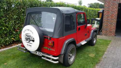 verkauft jeep wrangler 4 0 ho softtop gebraucht 1995. Black Bedroom Furniture Sets. Home Design Ideas