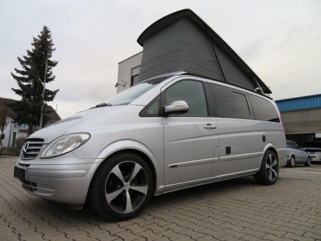 verkauft mercedes viano marco polo 2 2 gebraucht 2007 km in karlstadt am main. Black Bedroom Furniture Sets. Home Design Ideas
