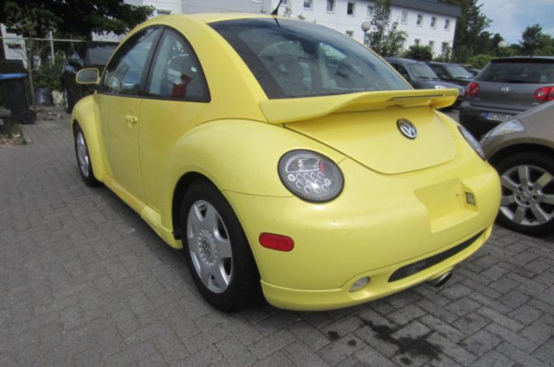 verkauft vw beetle 1 9 tdi leder glas gebraucht 1999 km in suhl. Black Bedroom Furniture Sets. Home Design Ideas