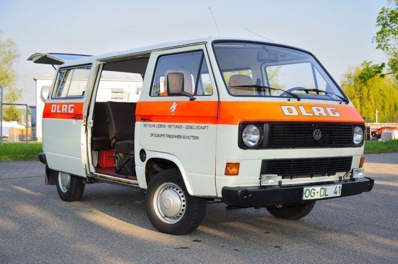 verkauft vw t3 vw bus feuerwehr bulli gebraucht 1985 km in h rth. Black Bedroom Furniture Sets. Home Design Ideas