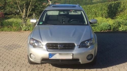 verkauft subaru outback 2 5 gebraucht 2004 km in reichelsheim ode. Black Bedroom Furniture Sets. Home Design Ideas