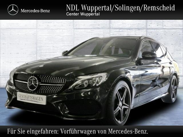 verkauft mercedes c450 amg 4m amg nigh gebraucht 2015 5. Black Bedroom Furniture Sets. Home Design Ideas
