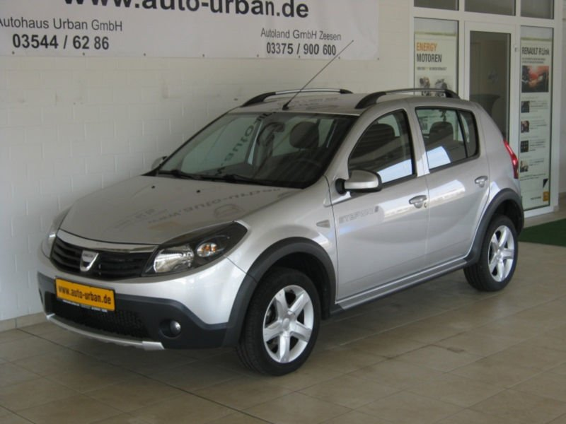 gebraucht 1 6 mpi stepway 1 hand klima alu dacia sandero 2010 km in leipzig. Black Bedroom Furniture Sets. Home Design Ideas