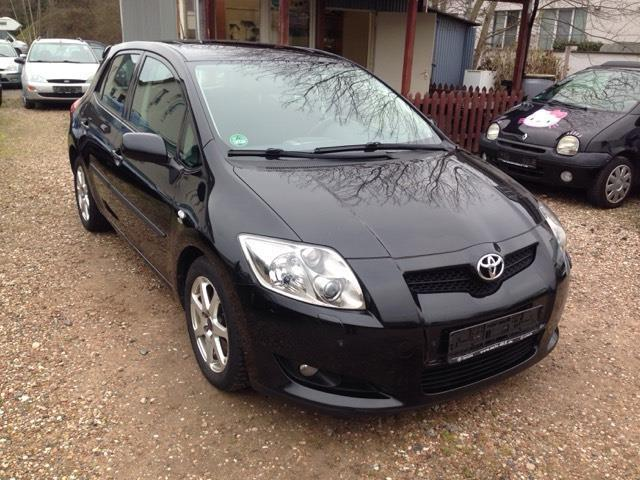 verkauft toyota auris auris diesel gebraucht 2008 km in r dermark. Black Bedroom Furniture Sets. Home Design Ideas