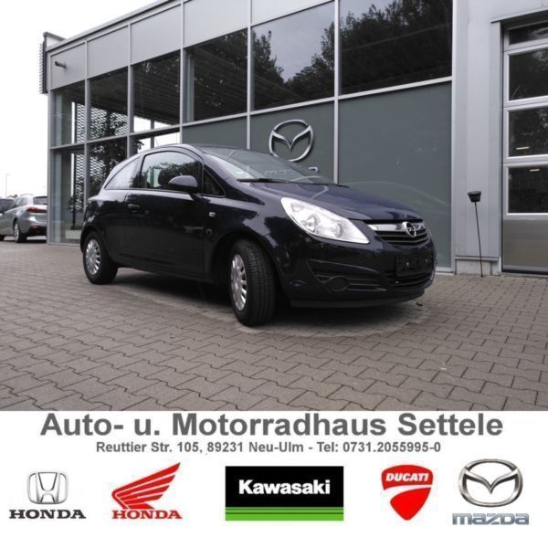 verkauft opel corsa d selection 1 hand gebraucht 2010 km in neu ulm. Black Bedroom Furniture Sets. Home Design Ideas