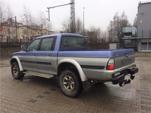 verkauft mitsubishi l200 pick up gebraucht 2000 km in haldensleben. Black Bedroom Furniture Sets. Home Design Ideas