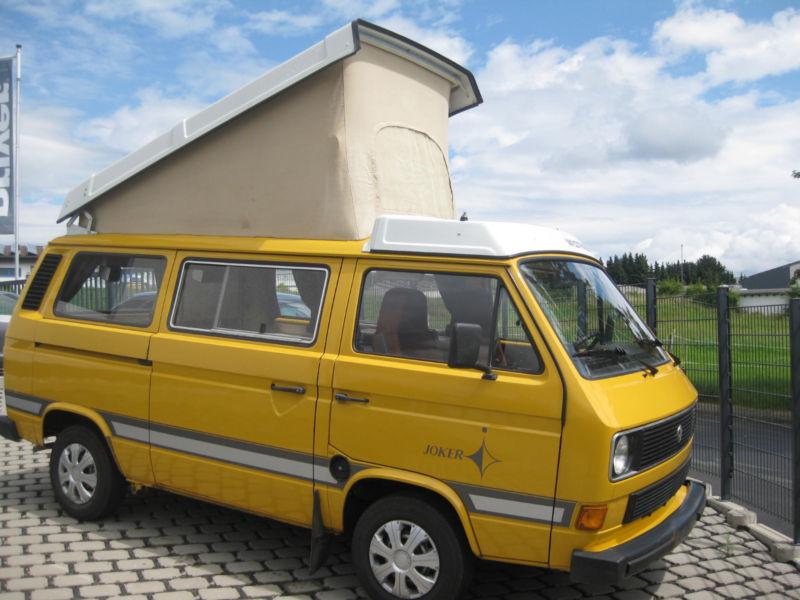 gebraucht westfalia joker 63500km original vw t3 1981 km in villmar. Black Bedroom Furniture Sets. Home Design Ideas