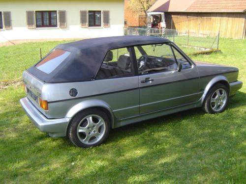 verkauft vw golf cabriolet vw cabrio gebraucht 1991 km in gerabronn. Black Bedroom Furniture Sets. Home Design Ideas