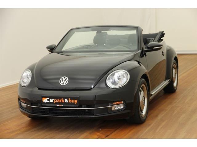 verkauft vw beetle cabriolet 2 0 tdi d gebraucht 2014 km in berlin. Black Bedroom Furniture Sets. Home Design Ideas