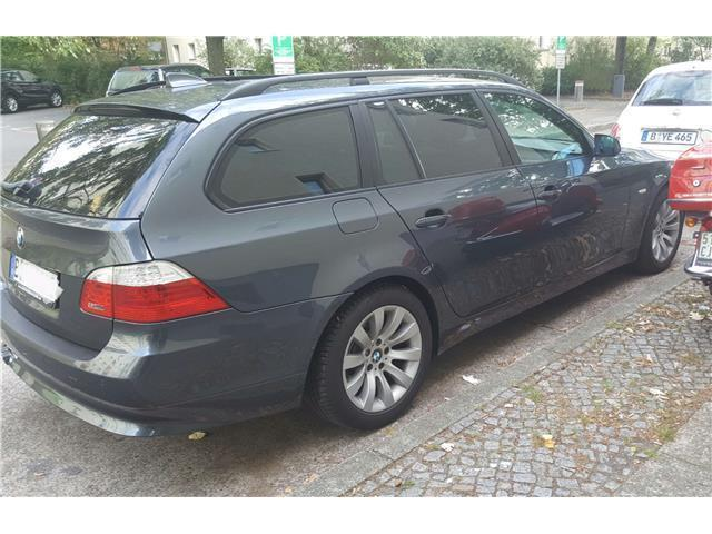 verkauft bmw 525 5er touring aut gebraucht 2008 km in berlin. Black Bedroom Furniture Sets. Home Design Ideas