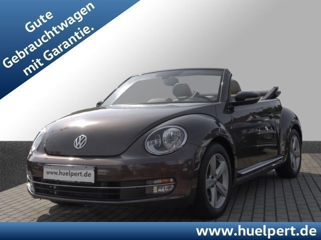 verkauft vw beetle cabrio 2 0 sport ds gebraucht 2015 8. Black Bedroom Furniture Sets. Home Design Ideas