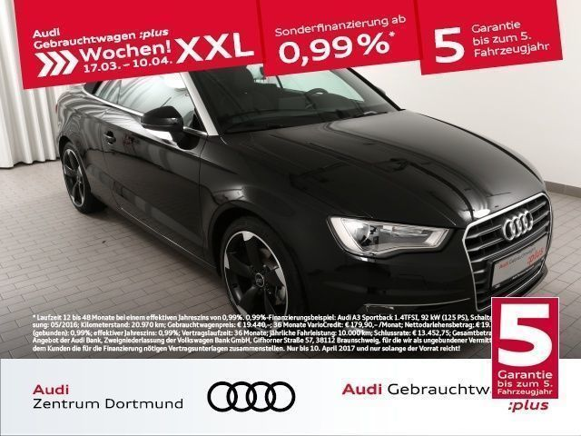 gebraucht Audi A3 Cabriolet 2.0TDI NAV/SHZ/Leder/XEN (Navi Xenon Ein