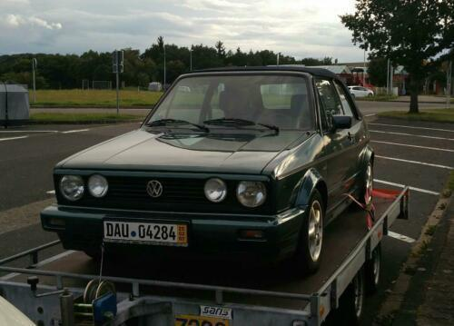 quite nice famous brand buy cheap 👍 Spare 101% • VW Golf Cabriolet 1.8 Benzin 98 PS (1990) in ...