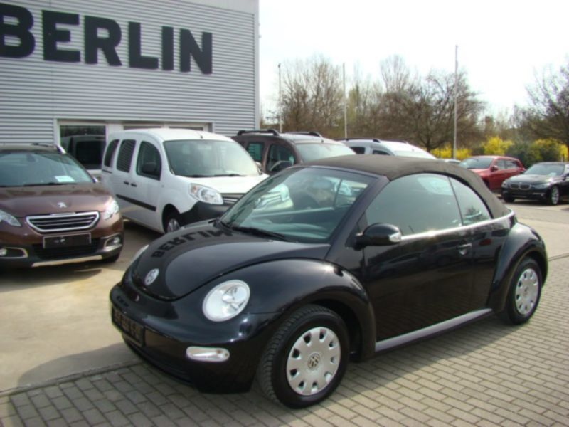 verkauft vw beetle newcabriolet 2 0 hi gebraucht 2004. Black Bedroom Furniture Sets. Home Design Ideas