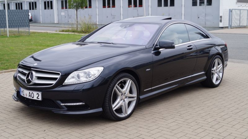 gebraucht 4matic blueefficiency 7g tronic mercedes cl500 2011 km in stuhr. Black Bedroom Furniture Sets. Home Design Ideas