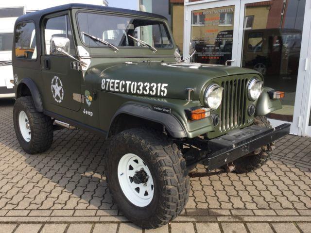 cj gebrauchte jeep cj kaufen 32 g nstige autos zum verkauf. Black Bedroom Furniture Sets. Home Design Ideas