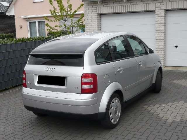verkauft audi a2 1 4 gebraucht 2000 km in bochum. Black Bedroom Furniture Sets. Home Design Ideas