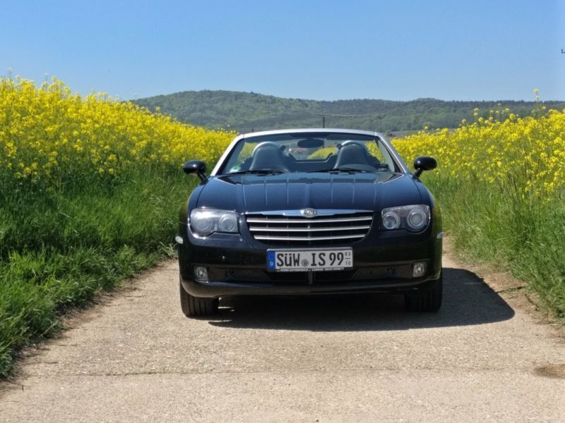 verkauft chrysler crossfire roadster a gebraucht 2004 km in bottrop. Black Bedroom Furniture Sets. Home Design Ideas