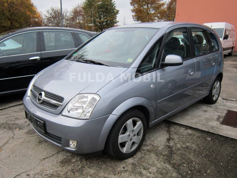 verkauft opel meriva easytronic gebraucht 2004 km in oberbarmen. Black Bedroom Furniture Sets. Home Design Ideas