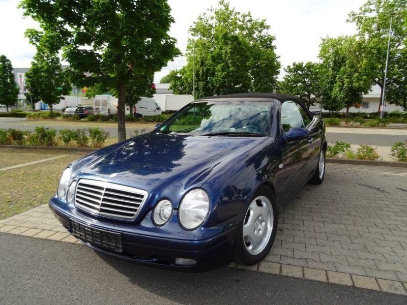 verkauft mercedes clk230 cabrio kompre gebraucht 1999 km in frankfurt. Black Bedroom Furniture Sets. Home Design Ideas