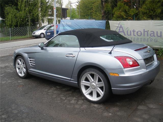 verkauft chrysler crossfire roadster a gebraucht 2006 km in buseck. Black Bedroom Furniture Sets. Home Design Ideas