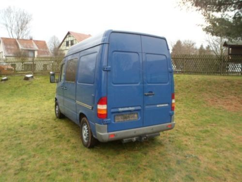 verkauft mercedes sprinter gebraucht 1999 km in friedrichroda. Black Bedroom Furniture Sets. Home Design Ideas