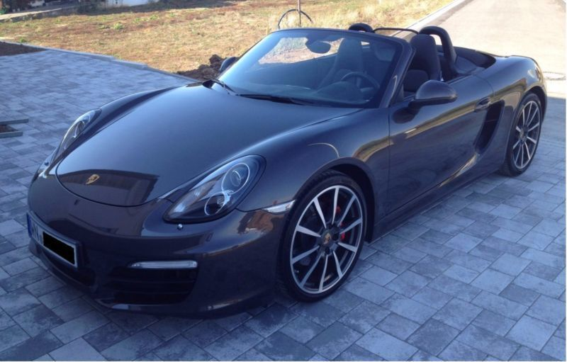 verkauft porsche boxster s gebraucht 2013 km in burgstetten. Black Bedroom Furniture Sets. Home Design Ideas