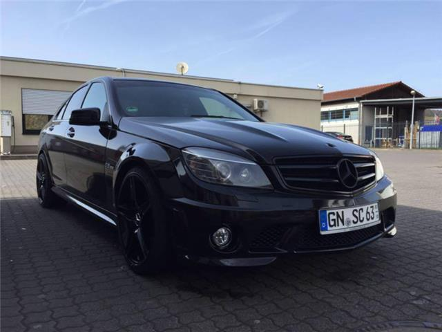 verkauft mercedes c63 amg amg facelift gebraucht 2008 km in mannheim. Black Bedroom Furniture Sets. Home Design Ideas