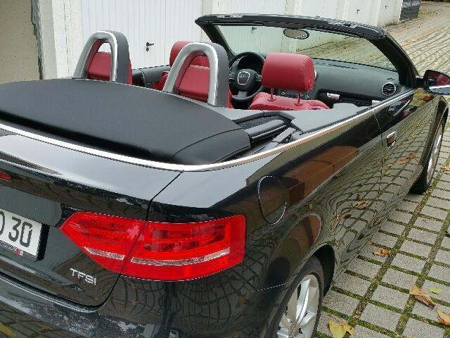 verkauft audi a3 cabriolet 1 2 tfsi am gebraucht 2011. Black Bedroom Furniture Sets. Home Design Ideas
