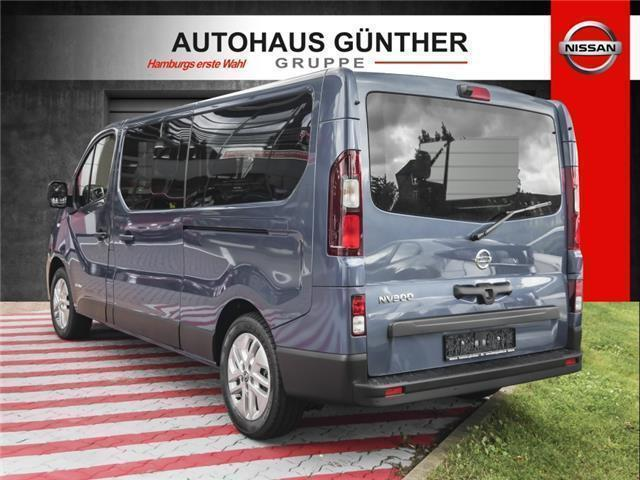 verkauft nissan nv300 kombi l2h1 premi gebraucht 2017 7. Black Bedroom Furniture Sets. Home Design Ideas