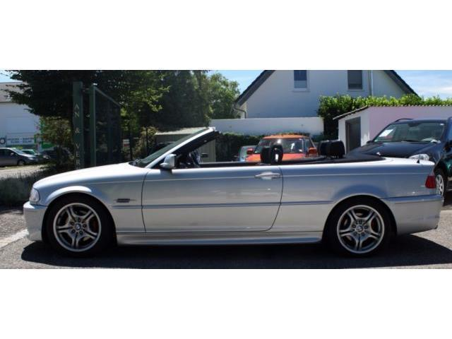 verkauft bmw 320 cabriolet 320 ci gebraucht 2003 km in buchloe. Black Bedroom Furniture Sets. Home Design Ideas