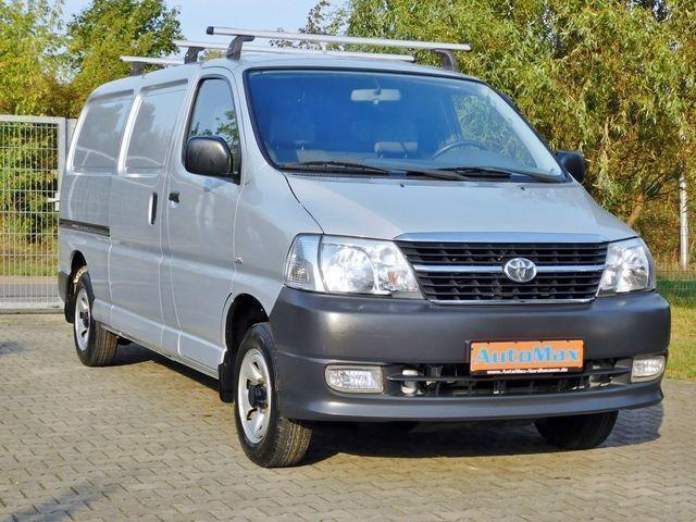 verkauft toyota hiace 2 5 d 4d 4x4 lan gebraucht 2010. Black Bedroom Furniture Sets. Home Design Ideas
