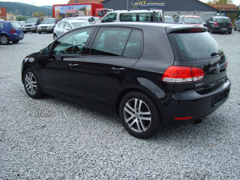 verkauft vw golf vi comfortline gebraucht 2009 km in ruhmannsfelden. Black Bedroom Furniture Sets. Home Design Ideas