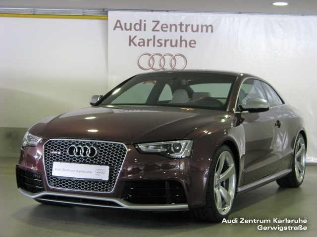 verkauft audi rs5 coup 4 2 fsi quattr gebraucht 2014 km in karlsruhe. Black Bedroom Furniture Sets. Home Design Ideas