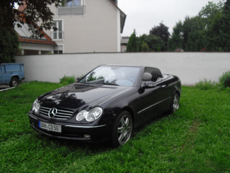 verkauft mercedes clk500 clk cabrio gebraucht 2003 85. Black Bedroom Furniture Sets. Home Design Ideas