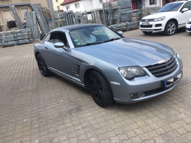 verkauft chrysler crossfire automatik gebraucht 2005 km in gernrode. Black Bedroom Furniture Sets. Home Design Ideas