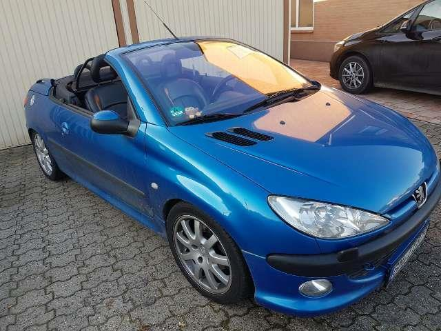 verkauft peugeot 206 cc 135 gebraucht 2002 km in bergheim. Black Bedroom Furniture Sets. Home Design Ideas
