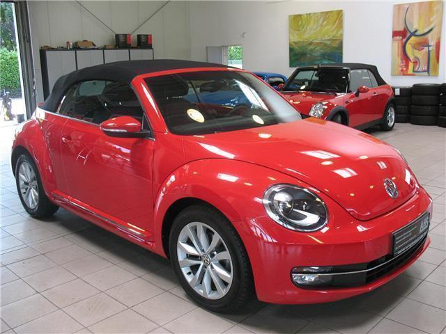 verkauft vw beetle cabrio 2 0 tdi desi gebraucht 2014. Black Bedroom Furniture Sets. Home Design Ideas