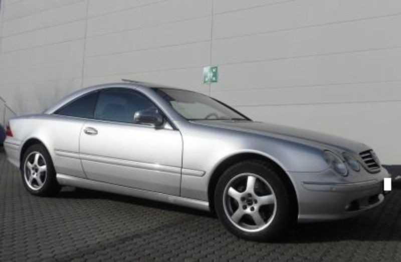 verkauft mercedes cl500 w215 volles mb gebraucht 2003 km in fulda. Black Bedroom Furniture Sets. Home Design Ideas